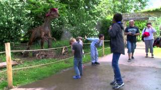 Thoiry : les dinosaures sont de sortie