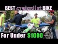 Buying the Best Bike For Under $1000