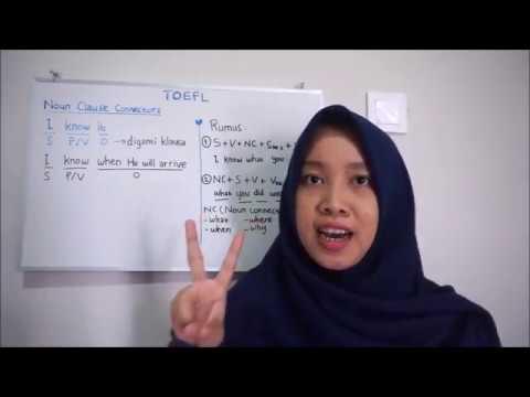 Tips TOEFL - Pembahasan Soal TOEFL Noun Clause Connectors ...