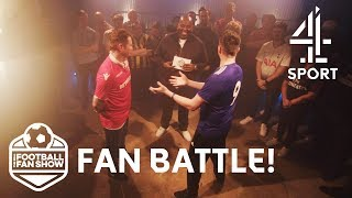 Leicester vs Nottingham Forest! HILARIOUS Fan Battle | The Real Football Fan Show
