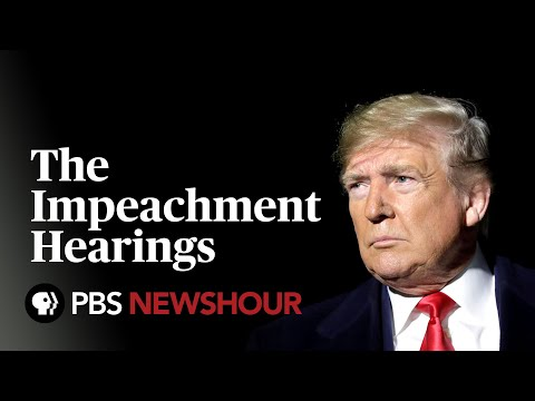 WATCH: The Trump Impeachment Hearings – Day 3 - Williams, Vindman, Volker and Morrison testify