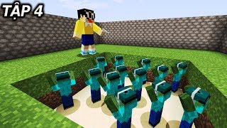 Minecraft Nobita V Ng y Tn Th Tp 4 Cn Hm Cha Zombie B n