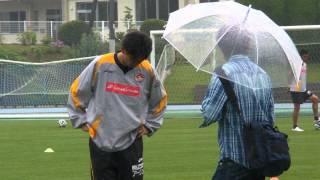 ベガルタ仙台対九州総合スポーツカレッジ試合前