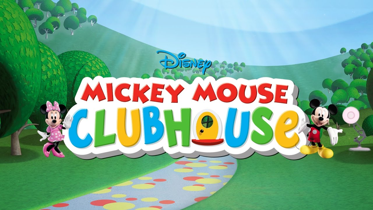 387-Mickey Mouse Clubhouse Disney Spoof Pixar Lamp Luxo Jr ...
