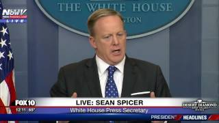 POSE A THREAT? First To Go: Sean Spicer Lays Out Illegal Immigration Plan (FNN)