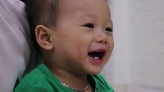 Funny Baby laughing | Tep's brother makes he laugh | Cutest Baby Family Moments | 面白いかわいいベイビービデオ