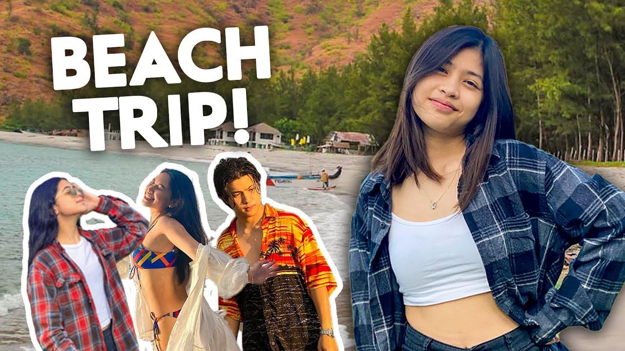 Beach Trip with the FAM!!! ( sinong hindi nakapag swimming sa beach trip)   Chelseah Hilary