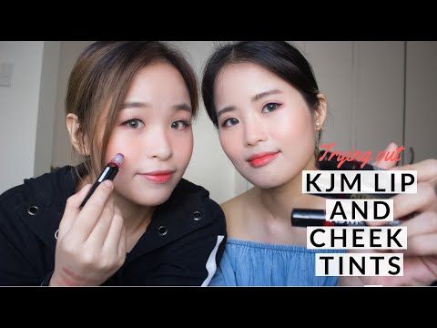 Trying Out KJM Lip and Cheek Tints