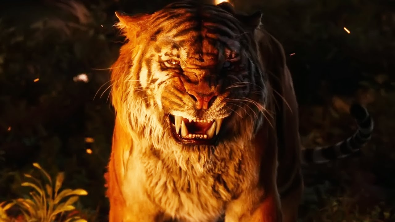 The Jungle Book 2016 - All Fight Scenes