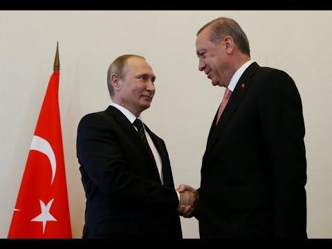 LIVE: Putin & Erdogan joint press conference in St. Petersburg