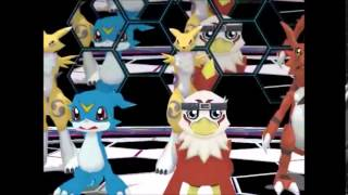 Gambar cover [MMD]Digimon Dance Group Party Rock Anthem LMFAO