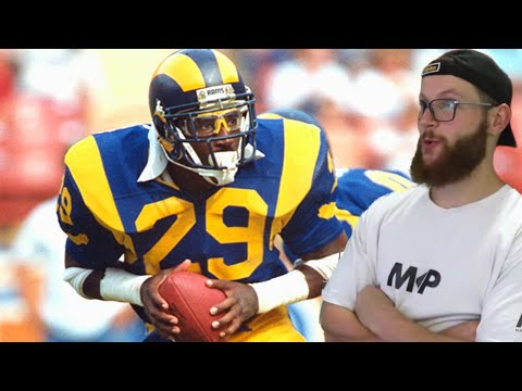 Rugby Player Reacts to ERIC DICKERSON #52 The Top 100 NFL's Greatest Players!
