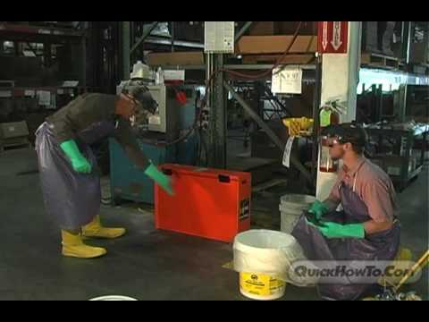 Battery Acid Spill Cleanup