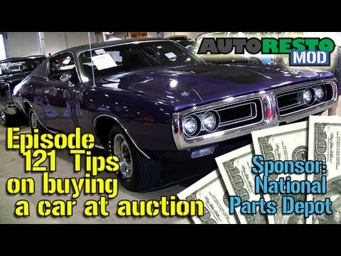 Tips on  Buying a Classic Car at Auction Episode 121 Autorestomod