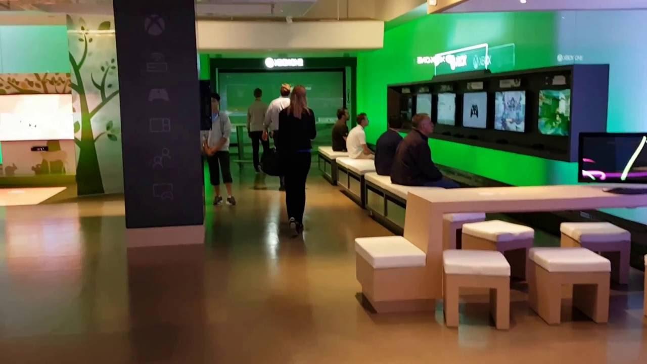 Building 92 microsoft store - Microsoft Visitor Centre In Redmond