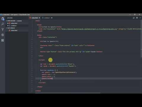 Best Text to Speech (Voice) Converter Software- Javascript Tutorial