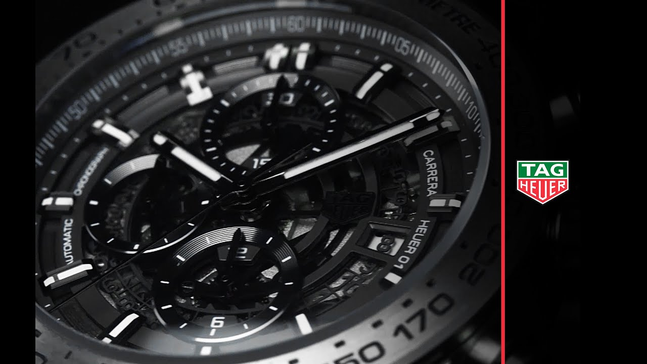 This Tag: Carrera Heuer-01 Grey Phantom Titanium - YouTube