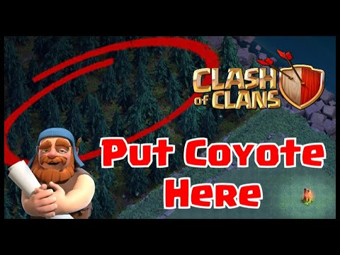 🐺COYOTE SPOTTED in CLASH OF CLANS NIGHT MODE VILLAGE BUILDER'S HALL BASE! HIDDEN UPDATE EASTER EGG!