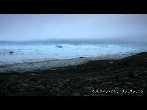 The World: Mark Fahnestock discusses the Jakobshavn Glacier in Greenland