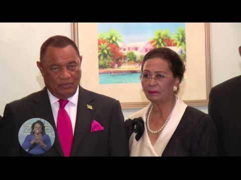 PRESIDENT OF GUYANA HOLDS PRESS CONFERENCE