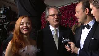 Red Carpet: Lauren Ambrose, Harry Hadden-Paton & Bartlett Sher (2018)