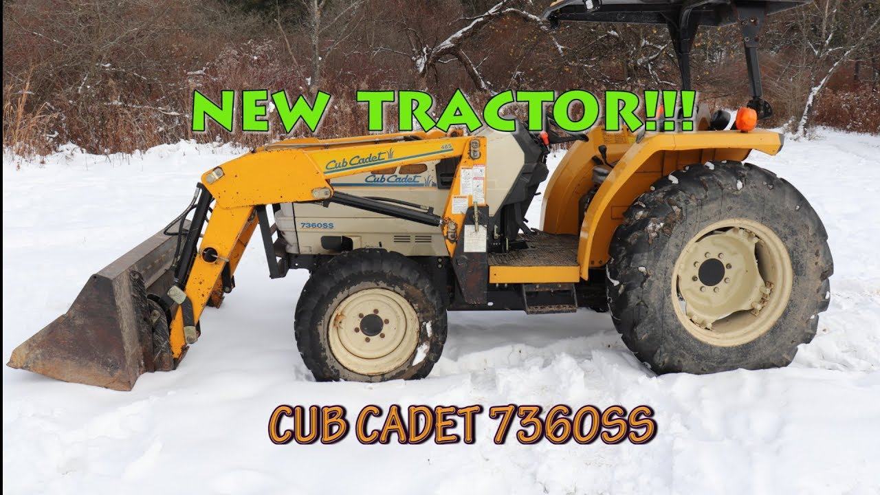 This service manual comes in pdf format. Cub Cadet 7360ss Our New Homestead Tractor Youtube