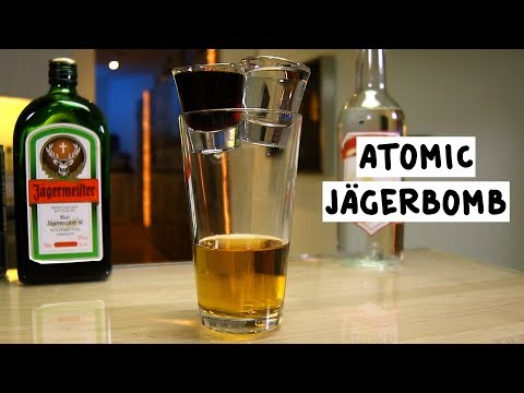 Great Cocktail Recipes Atomic Jagerbomb Tipsy Bartender
