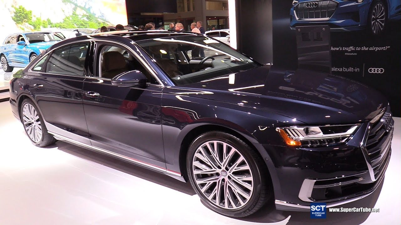 Chi tiết mẫu sedan hạng sang Audi A8 L phiên bản 3.0 Turbocharged V6
