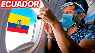 Mi PRIMER VUELO Internacional a Ecuador! 🇪🇨 😃 Business Class | Alex Tienda ✈️