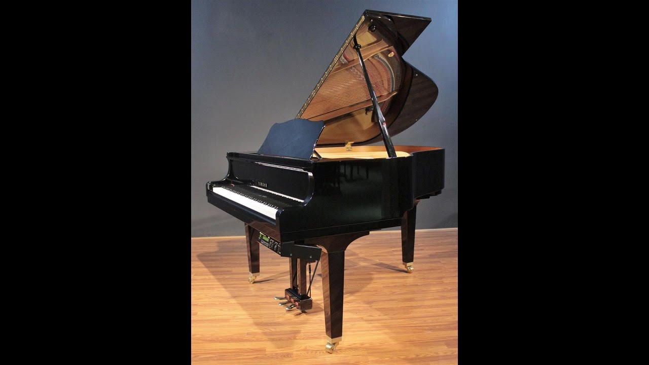 Yamaha disklavier 5 39 3 39 39 baby grand piano gp1 1999 youtube for Yamaha disklavier grand piano