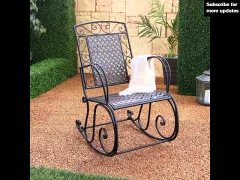 Outdoor Rocking Chairs : Outdoor Seating Ideas   YouTube