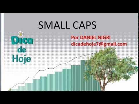 DICA DE HOJE - Small caps - Entenda porque elas estão descontadas