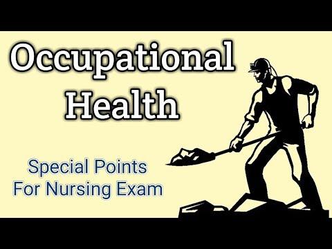 Occupational Health & Disease