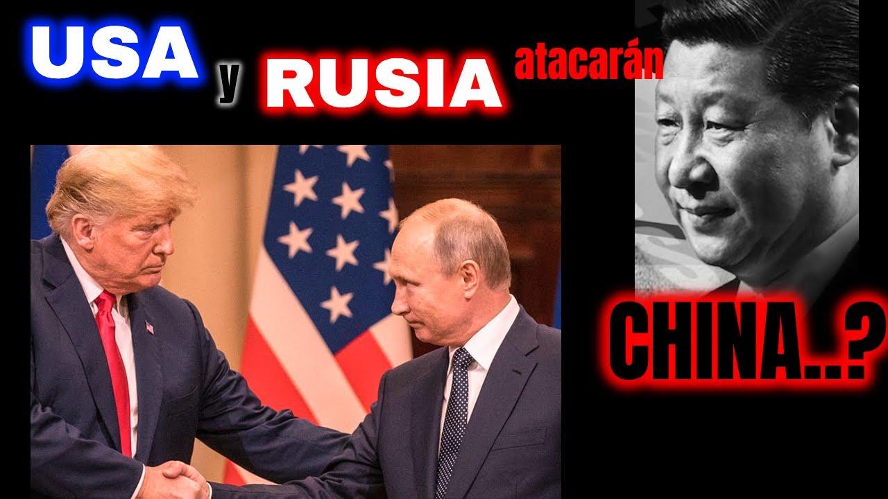 REVELACIÓN: ¿PUTIN y TRUMP se unen contra CHINA?