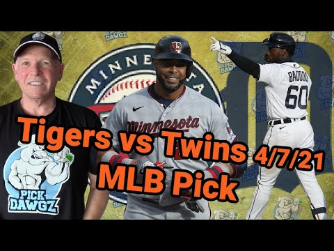 Detroit Tigers vs Minnesota Twins 4/7/21 MLB Pick and Prediction MLB Tips Betting Pick