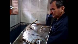 Reparación de estufa como arreglar quemadores de estufa