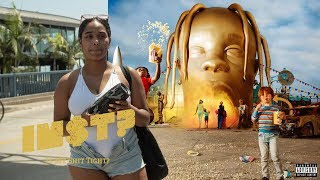 Travis Scott - STARGAZING & STOP TRYING TO BE GOD: STREET REACTIONS at Santa Monica Pier