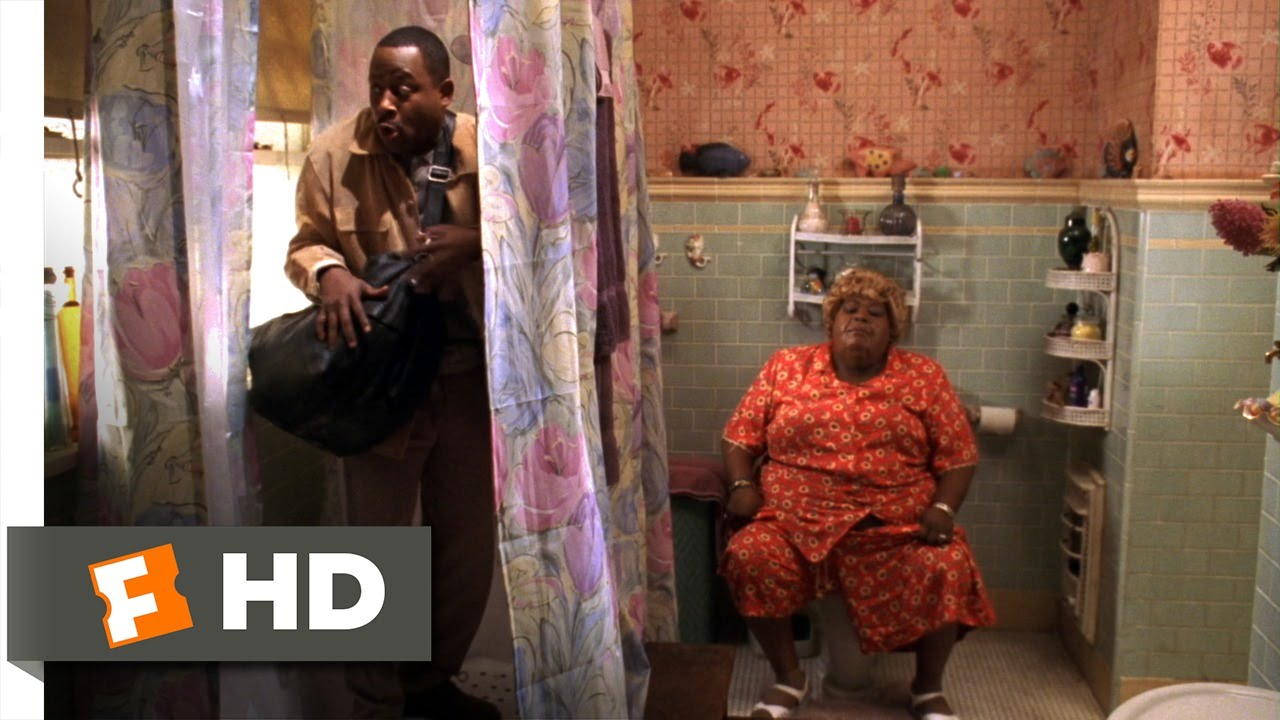 big mommas house 2000 trapped in the bathroom scene