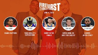 First Things First audio podcast (6.4.19) Cris Carter, Nick Wright, Jenna Wolfe | FIRST THINGS FIRST