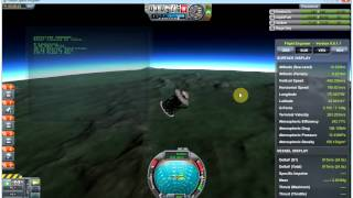 Kerbal Space Program (KSP) - kOS Scriptable Autopilot System Mod v0.5 - Rover + Skycrane demo
