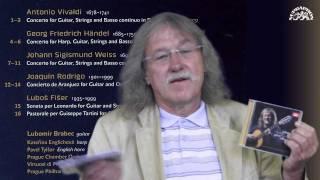 Lubomír Brabec představuje CD Guitar Concerto Collection vydavatelství SUPRAPHON