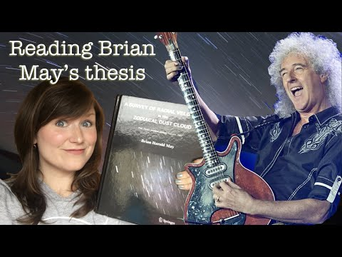 How fast does the Sun orbit the Milky Way? | Brian May's Astrophysics Thesis on Solar System Dust