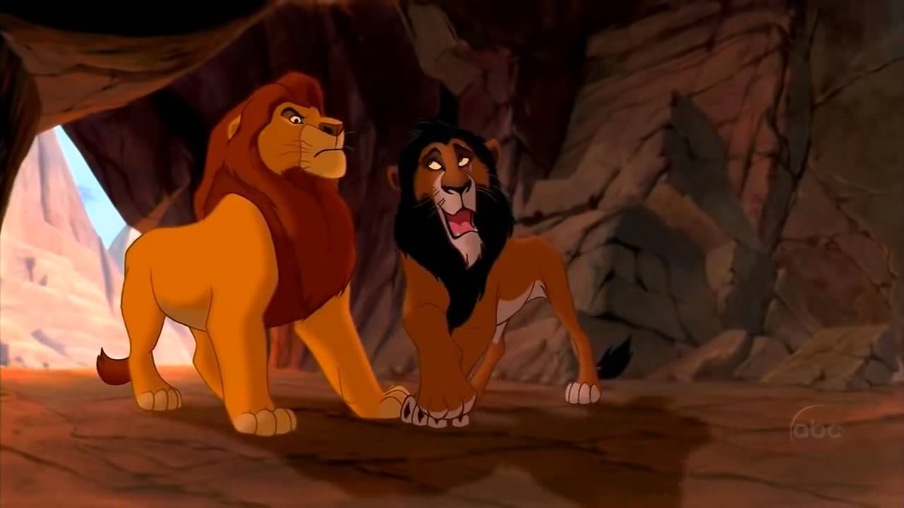Lion King Scar And Mufasa The Lion King S...