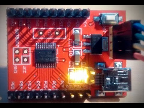 STM8 Developement and Programming on Linux (Ubuntu 14.04)