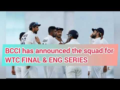 Indian Squad | World Test Championship | England Tour |