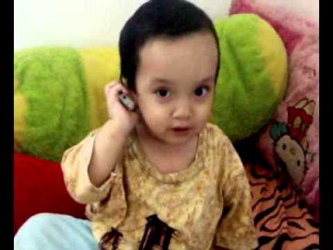 Anak Bayi Umur 1 Tahun Lagi Telepon Youtube