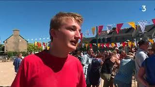 Guerlesquin : lancer de menhirs, les champions bretons plus forts qu'Obélix ?