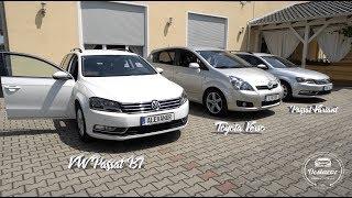 VW Passat B7 /// Toyota Verso /// Оформили 3 автомобиля из Германии