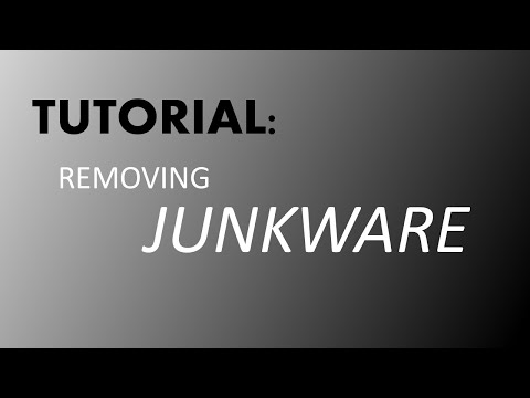 How To Remove Junkware From Your PC