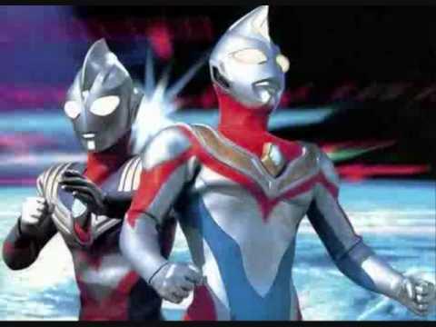 ultraman dyna and ultraman tiga Ending movie song